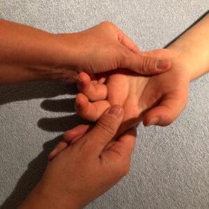 03 Fuss Handreflexzonen Massage